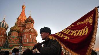 Парад 7 ноября 2018 года на Красной площади в Москве