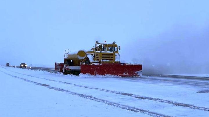 Снег парализовал работу аэропорта Краснодара до 21:00