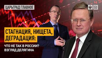 Стагнация, нищета, деградация: что не так в России? Взгляд Делягина
