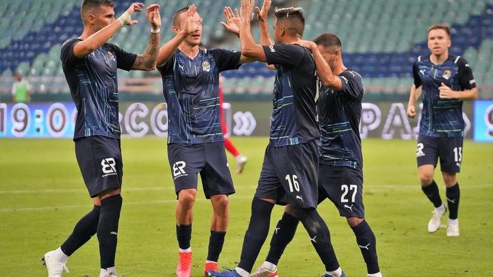 Футбольный «Сочи» дома разгромил «Кешлю» изАзербайджана