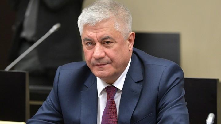 В Новосибирск прибыл министр МВД России Владимир Колокольцев