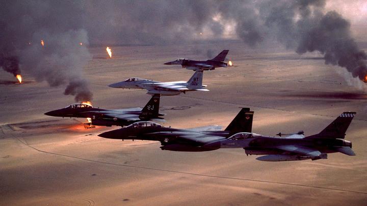 Управляемый хаос США: Через 30 лет русские заканчивают бурю в пустыне