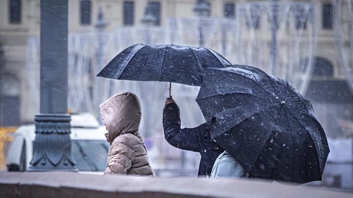 Будьте осторожны: В Адыгее объявили экстренное предупреждение по налипанию мокрого снега