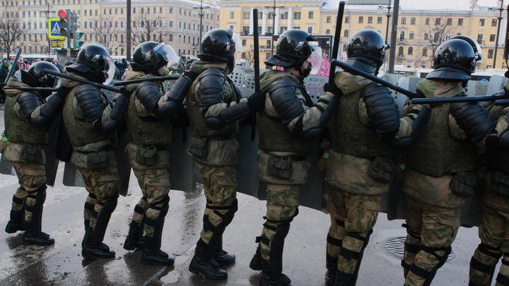 В Петербурге задержали замглавы МО «Гавань» за участие в незаконном митинге 31 января
