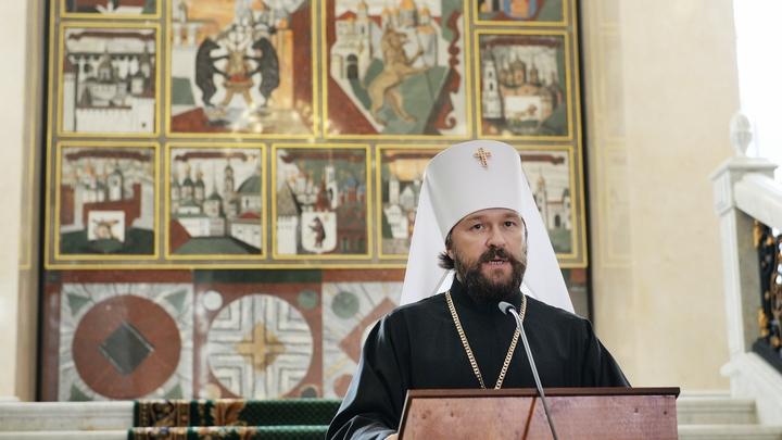 Митрополит Иларион заявил о непреклонности Русской Церкви перед коронавирусом