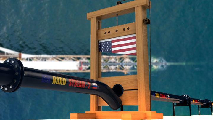 Маски сброшены: США открыто предают Европу из-за «Северного потока — 2»