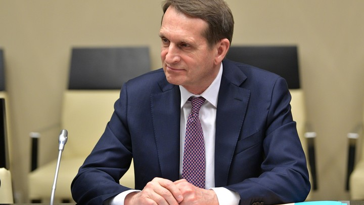Спросил - как обидел: США включили Нарышкина в список санкций. Но прогадали