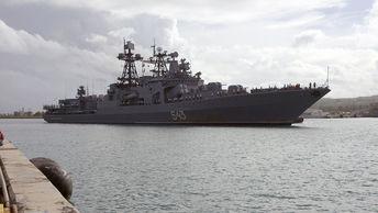 В Минобороны заявили о причинах пожара на корабле Маршал Шапошников
