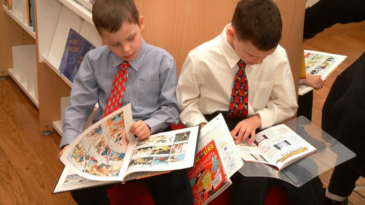 В Екатеринбургской гимназии №35 открыли новый корпус, куда мечтают попасть многие