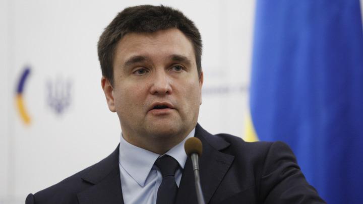 Глава МИД Украины выдал Саакашвили