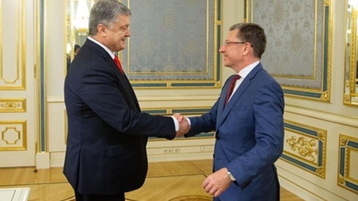 В МИД РФ обвинили Волкера в подстрекательстве Киева против Донбасса