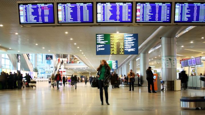 Пассажирский Боинг задымился перед вылетом в аэропорту Домодедово