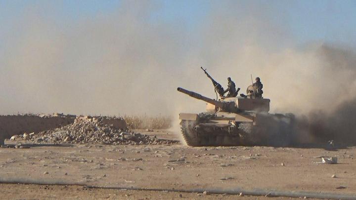 Террористы в Сирии похвастались захваченным в боях советским Т-62