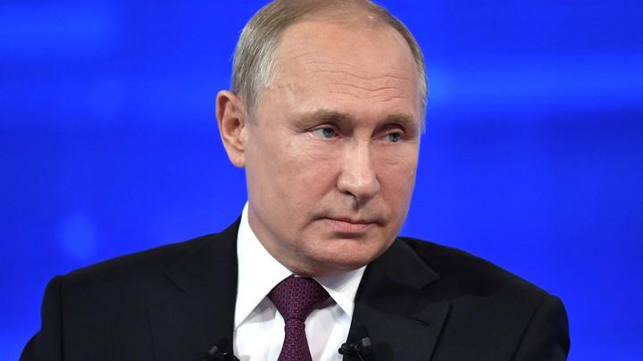 Путин выйдет на Прямую линию: Названы дата и время