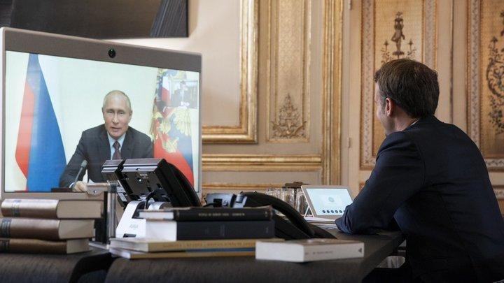 Во Франции ищут, кто слил разговор Путина и Макрона о Навальном