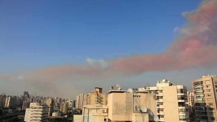 Бейрут накрыл ядерный зонтик? Взрыв сравнили с бомбардировкой Хиросимы
