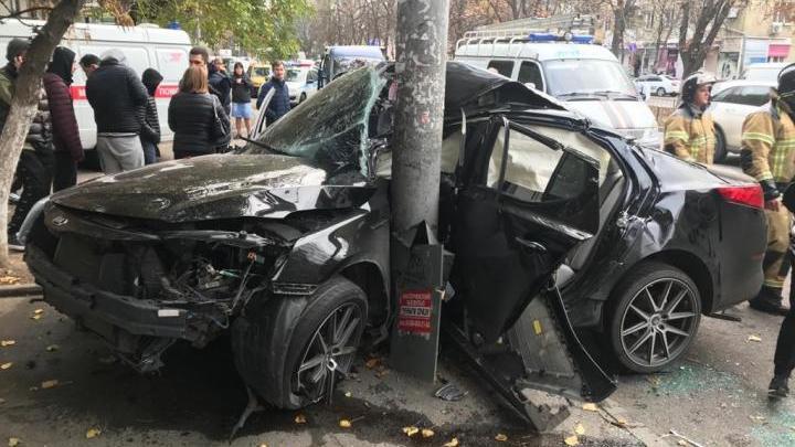 В Ростове-на-Дону в ДТП погиб 20-летний парень