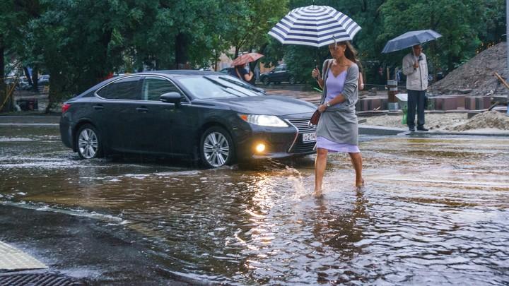 В Москве будет лить как из ведра