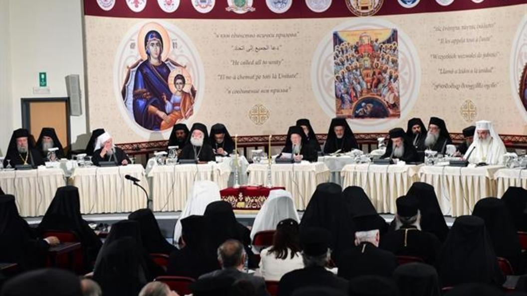 Двуязычие Собора на Крите порождает двуличие