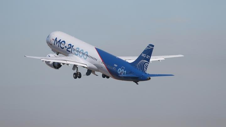 Испытание небом: Второй российский самолет опытной серии МС-21 поднялся в воздух