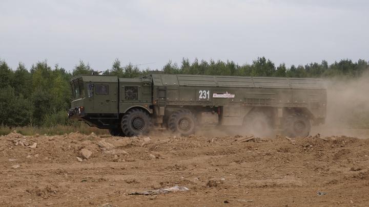 Русские ракетчики поразили цель при помощи Искандера повышенной мощности