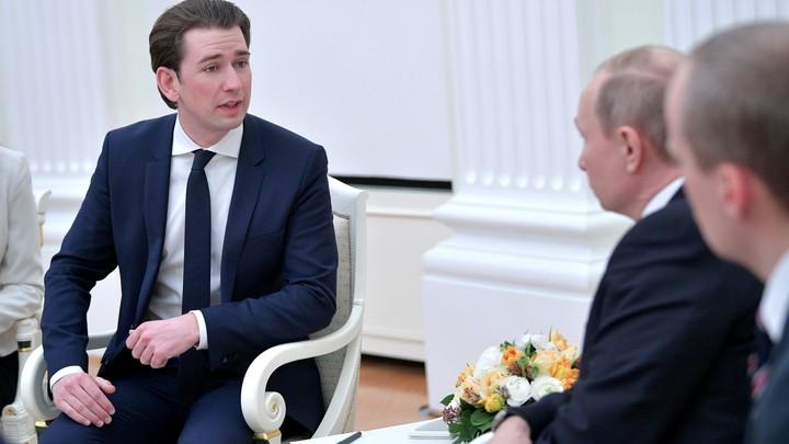 Россия - супердержава: Австрийский канцлер в Москве не сдержал своего восхищения