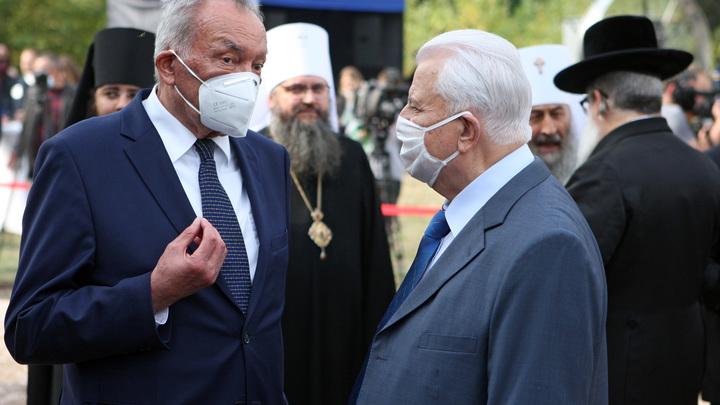 Дедушка невнимательно слушал Путина: Кравчук попал в неловкую ситуацию с Донбассом