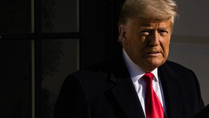 Об импичменте - ни слова: Трамп в пять минут ответил на голосование Палаты представителей