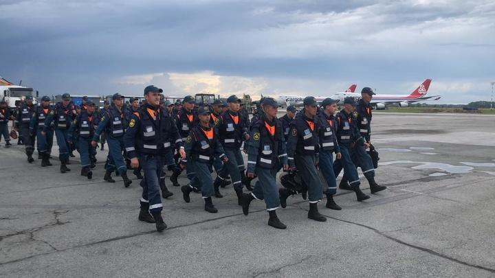 Новосибирские спасатели отправились в зону возможного паводка в Амурской области