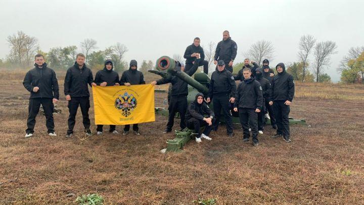 Ростовское отделение Двуглавого орла провело учения для Атаманской сотни