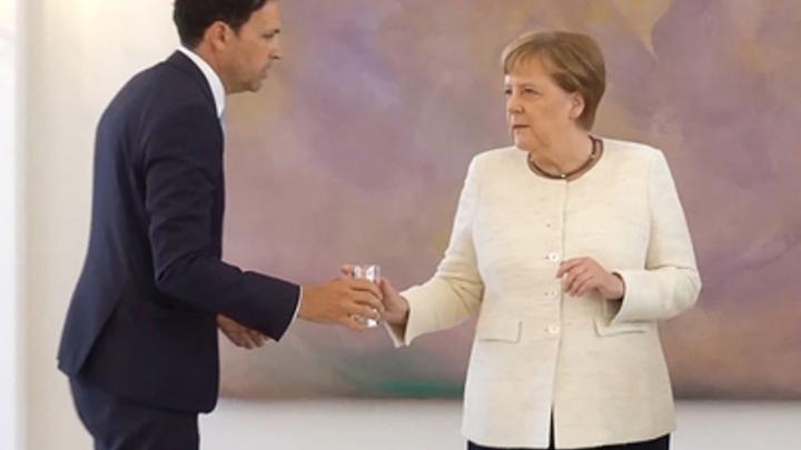 Кремлёвский врач поставил диагноз Меркель
