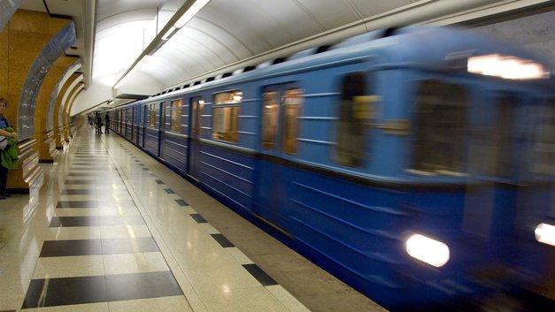 Пассажиры столичной подземки заметили «Монтесуму» - фото