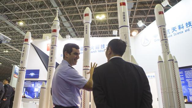 Китайская ракета вывела на орбиту два спутника для Пакистана