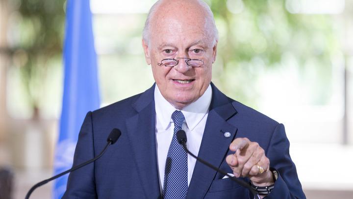 Все равно проведем: Де Мистура планирует межсирийские переговоры без делегации властей Сирии