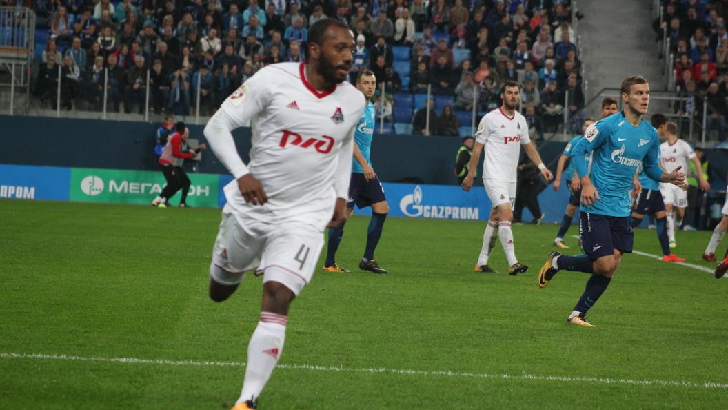 Футболист «Локомотива» Фернандеш вошел вкоманду недели Лиги Европы