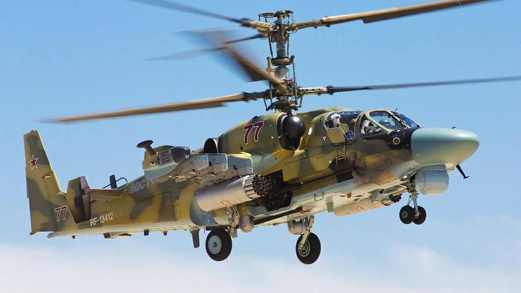 При крушении вертолета Ка-52 в Сирии погибли два летчика