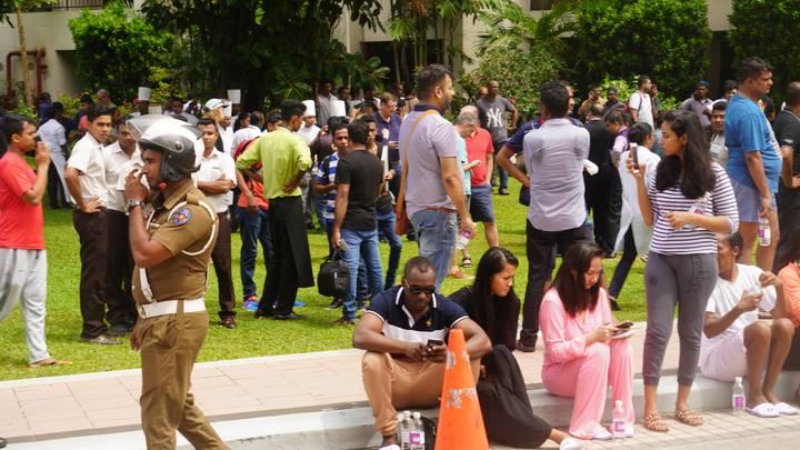 Российские граждане не пострадали в результате взрывов на Шри-Ланке - МИД