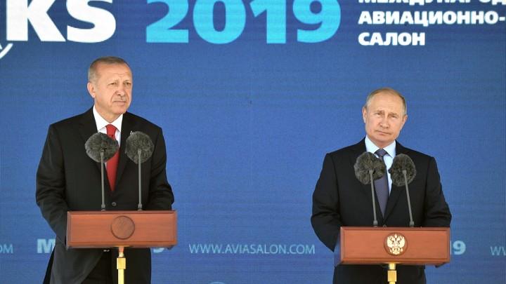 А их можно купить?: Эрдоган начал переговоры с Россией по Су-57 - СМИ