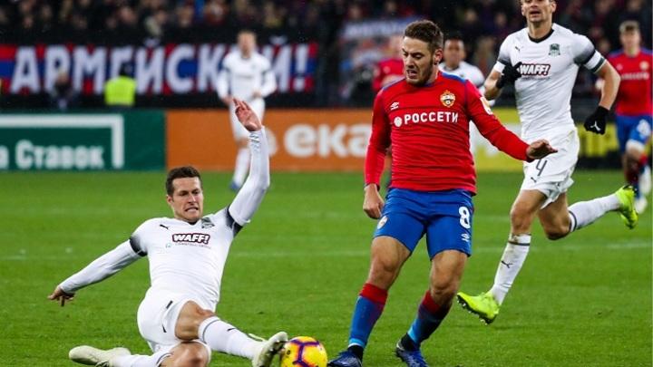 «Краснодар» – ЦСКА: На кону Лига чемпионов