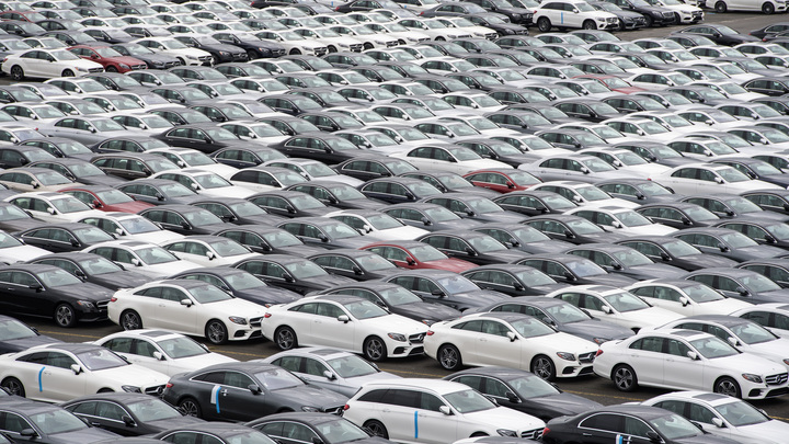 В России резко упали продажи авто б/у