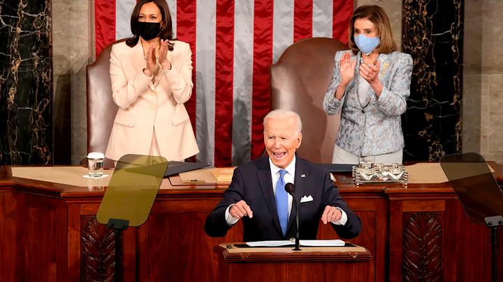 К посланию Байдена Конгрессу США приложили руку Путин, Лавров и Шойгу