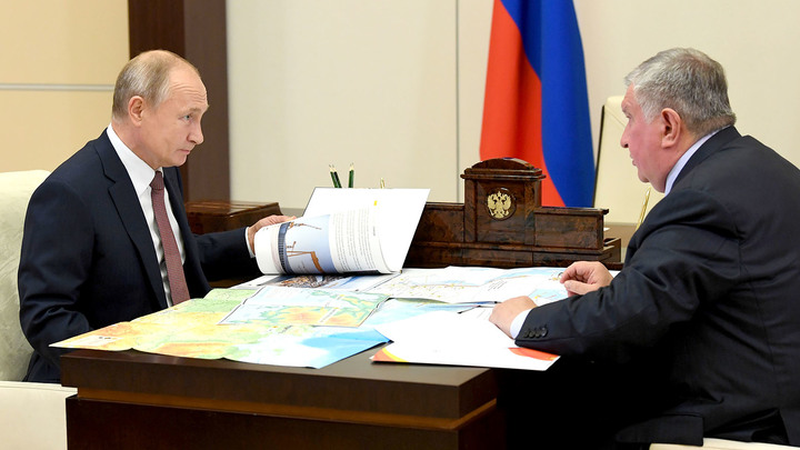 Путин оценил масштаб новых проектов Роснефти