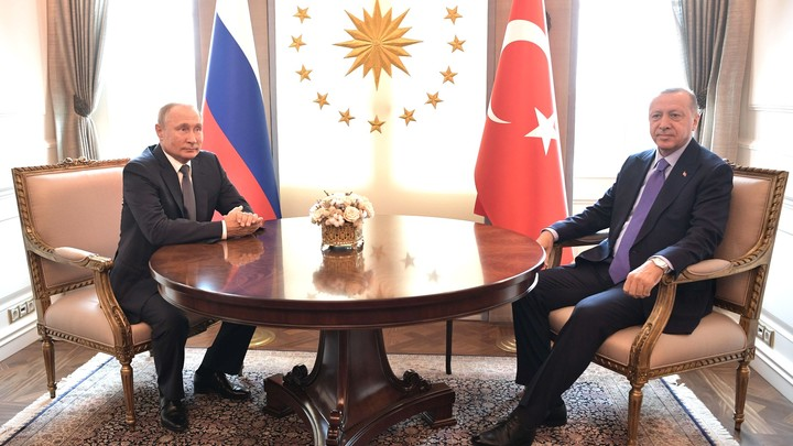 Путин и Эрдоган спасли Сирию от Источника мира: Главное о судьбоносной встрече лидеров России и Турции