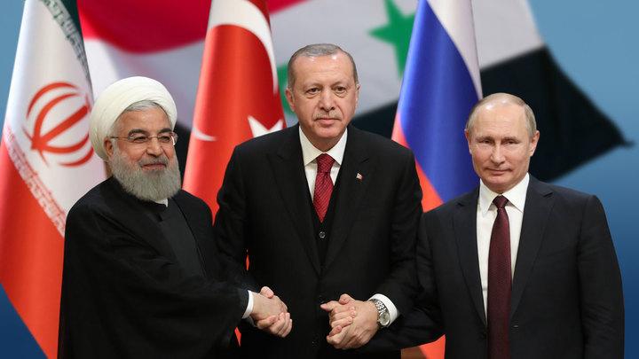 Кошмарный сон США и Европы: Россия, Иран и Турция делят Сирию на сферы влияния