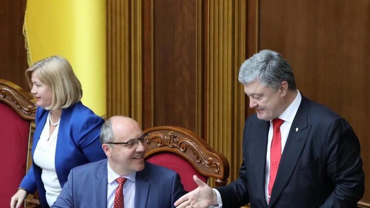 «Можно, чтобы мы не матюкалися в парламенте»: Перед голосованием Рады о военном положении Порошенко не сдержался