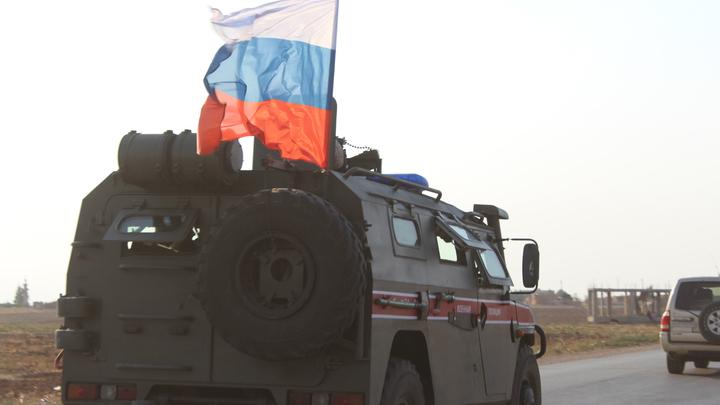 Русские блокировали американский патруль в Сирии