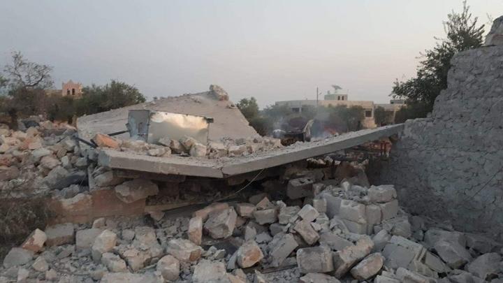 ВКС России атаковали лагерь подготовки террористов в Сирии. Они готовились воевать в Карабахе?
