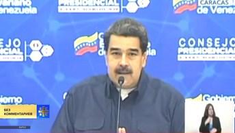 Мадуро назвал похожими на нацистские заявления Трампа о ситуации в Венесуэле
