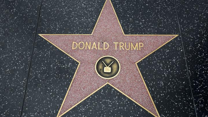 Звезда Трампа на Аллее славы сталасимволом противостояния в США
