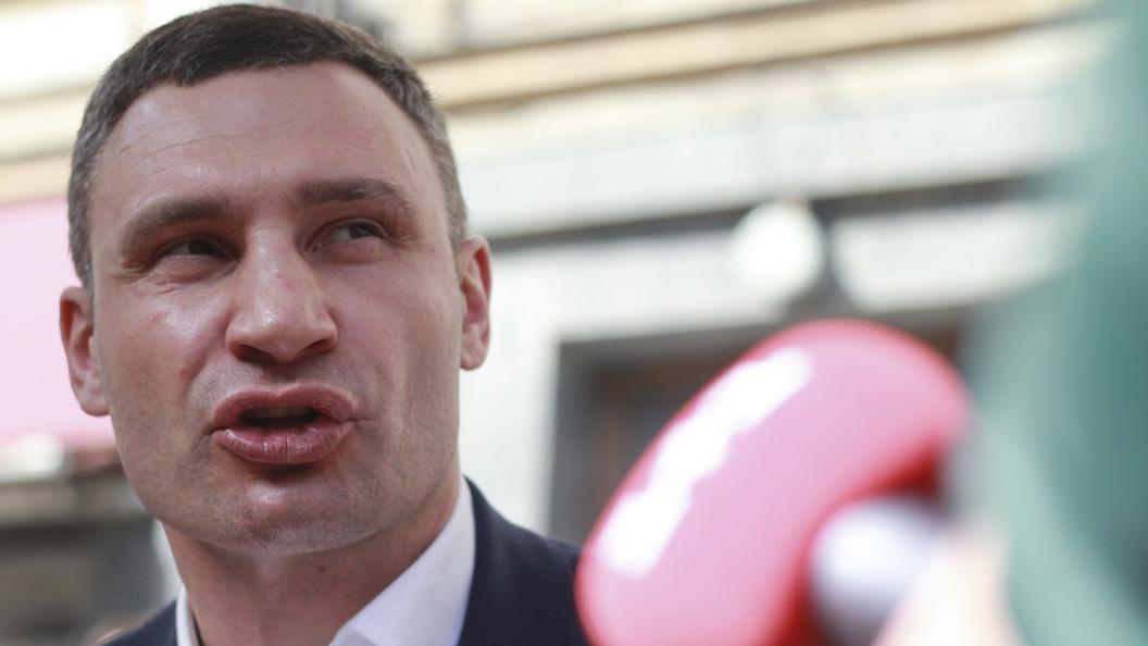 ВКиеве могут завести уголовное дело наВиталия Кличко